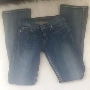 Levi's 524 too super low jeans